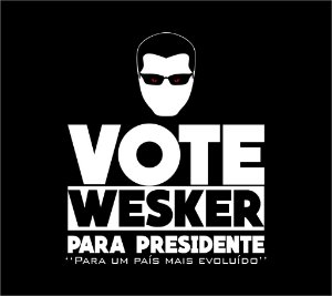 Camiseta Wesker para presidente