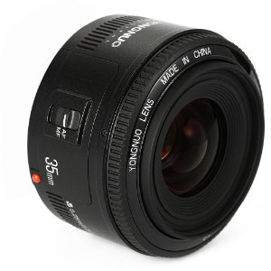 Lente Objetiva Yongnuo Yn35mm F2.0 Para Canon