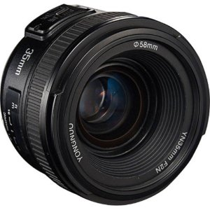 Lente Objetiva Yongnuo Yn35mm F2.0 Para Nikon