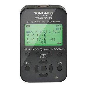 Controlador de Radio Flash Yongnuo YN622C-TX para Canon