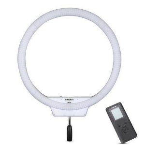 Iluminador Ring Light Pro Yongnuo Yn608 com Fonte