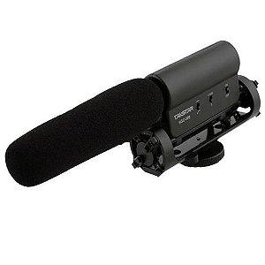 Microfone Condensador Stéreo Takstar SGC-598 Para Câmeras Filmadoras