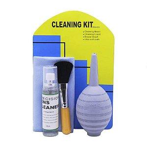 Kit De Limpeza Para Câmeras E Eletrônicos Wf-2033