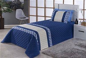 Cobre Leito e Porta Travesseiro Solteiro Colors