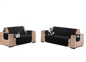 Protetor de Sofá Realeza Suede para sofá de 2 e 3 Lugares
