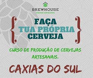 CURSO DE PRODUÇÃO DE CERVEJAS ARTESANAIS - CAXIAS DO SUL