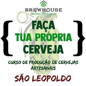 CURSO DE PRODUÇÃO DE CERVEJAS ARTESANAIS - SÃO LEOPOLDO