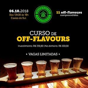 CURSO DE OFF-FLAVOURS - CAXIAS DO SUL