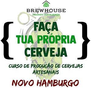 CURSO DE PRODUÇÃO DE CERVEJAS ARTESANAIS - NOVO HAMBURGO
