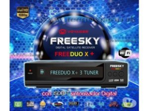 Freesky FREE DUO HD X +