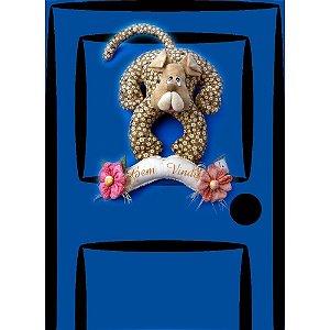 Enfeite de Porta Modelo Cachorro