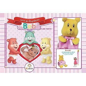 Livro de Recordações do Bebê para Menina
