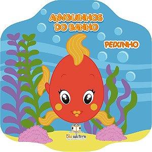 Livro Infantil Amiguinhos do Banho Peixinho
