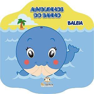 Livro Infantil Amiguinhos do Banho Baleia
