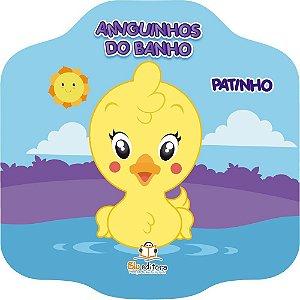 Livro Infantil Amiguinhos do Banho Patinho