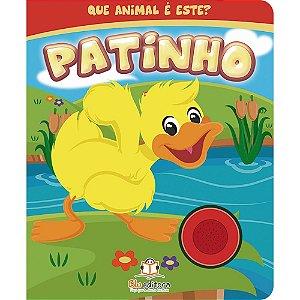 Livro Infantil Sonoro Que Animal é Este? Patinho