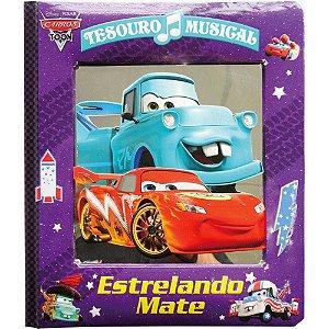 Livro musical da Disney Tesouro Musical Estrelando Mate Carros