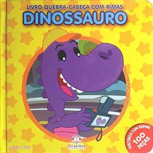 Livro Quebra-cabeça com Rimas Dinossauro
