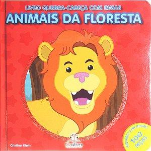 Livro Quebra-cabeça com Rimas Animais da Floresta