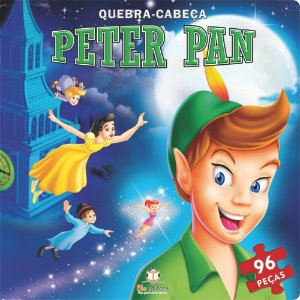 Livro Quebra-cabeça Grande Peter Pan