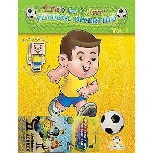 Livro de Colorir Futebol Divertido Volume 1