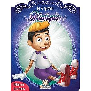 Livro Infantil Ler e Aprender Pinóquio