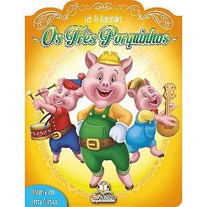 Livro Infantil Ler e Aprender Os Três Porquinhos