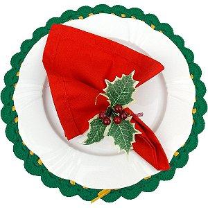 Kit Decoração para Ceia de Natal 18 peças