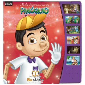 Livro Infantil Minha História Favorita Pinóquio