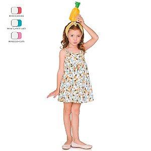 Vestido Menina Curto de Alcinha Verão