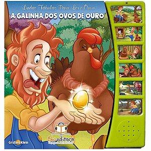 Fábulas para Ler e Ouvir A Galinha dos Ovos de Ouro