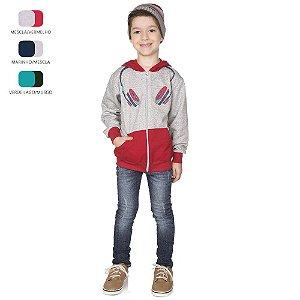 Jaqueta Infantil de Menino de Moletom