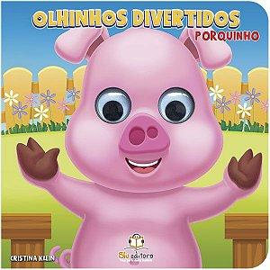 Livro Infantil Olhinhos Divertidos Porquinho