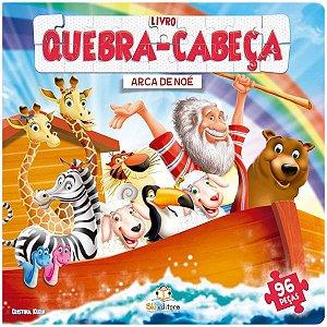 Livro Infantil Quebra-cabeça Grande: Arca de Noé
