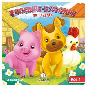 Livro Infantil Esconde-esconde na Fazenda Volume 1