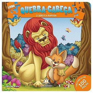 Livro Quebra-cabeça Médio: O Leão e a Raposa