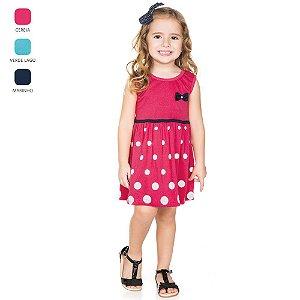Vestido Regata Infantil para Menina (Verão)