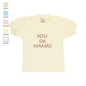 Camiseta com Dizeres para Bebê Unissex  (Verão)