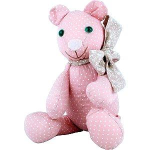 Ursinho Ted Pequeno Rosa B51