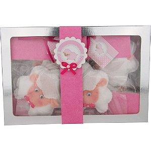 Lembrancinhas para Bebê Chaveiros de Feltro Ovelhinhas 12 Unidades