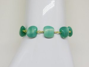Pulseira Verde Aqua