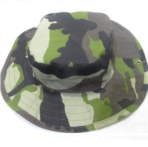 Boonie hat rip stop woodland amazon