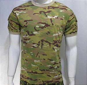 Camiseta t-shirt multicam tradicional