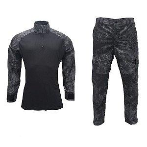 Farda calça e combat shirt mandrake black