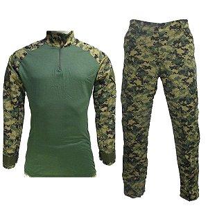 Farda marpat digital woodland serra combat shirt