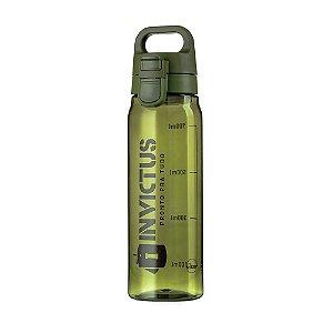 Garrafa Plástica Atomic 830 Invictus - Verde