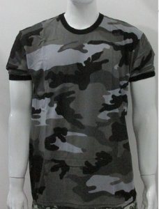 camiseta camuflado urbano black