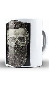 Caneca Skull Barber
