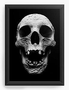 Quadro Decorativo Cranio