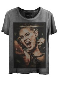Camiseta  Estonada Gola Canoa Steam Punk
